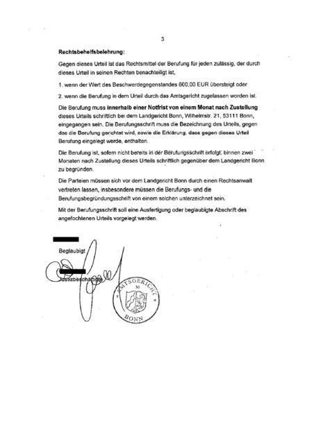 MyDoo Schreiben vom Amtsgericht Bonn MyDoo Abzocke über Handy Abofalle. My Doo c/o Legion Telekommunikation GmbH und deren Geschäftsführer Herr Régis Werlé bereibt diese Masche immer wieder. Wir empfehlen in jedem Fall gegen derartige Rechnungen zu Klagen. Es liegen in der Regel keine abgeschlossenen Verträge mit MyDoo vor. Daher sind alle Rechnungen unwirksam. Weitere Fakten über die Methoden der Firma My Doo GmbH hier: https://micemediaonline.wordpress.com/tag/regis-werle-betrug/ #MyDoo
