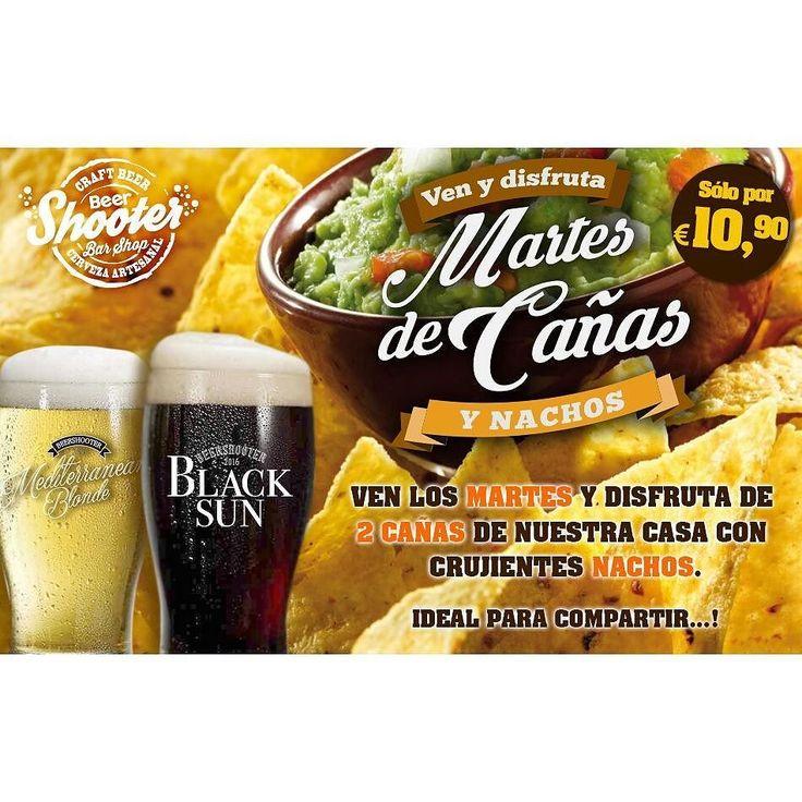 Recordad... Mañana  Desde las 19:30 :) a nachear.  #beershooter #malasaña  #malasañamola  #condeduque  #condeduquegente  #madrid #madridmola #madridmemola #cervezaArtesana #craftbeermadrid #cervezaartesanamadrid #rinconesdemalasaña #ganasdemalasaña #madridtime  #mikkeller #callelapalma #beermadrid  #cervezamadrid #Promomadrid #patatas #cañas #madridfoodtour #pornfood #comidagratismadrid #madridfood #martes #nachos by beershootermalasana
