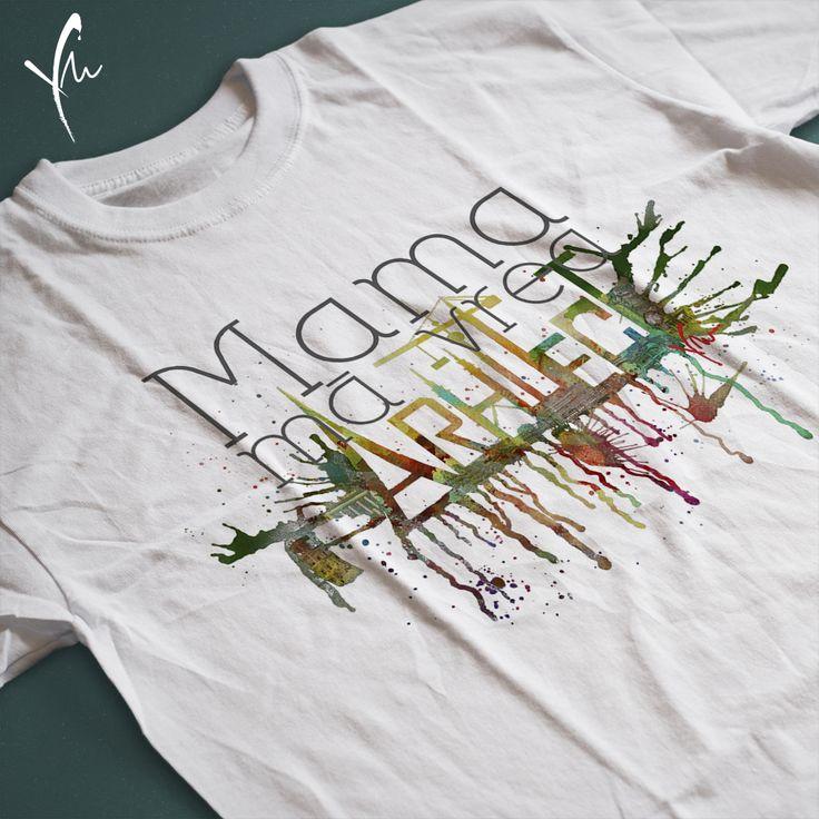 Sa spunem lumii intregi! Tricou cu text imprimat: Mama ma vrea Arhitect Il gasiti la http://ya-ma.ro/produs/arhitect-tricou/