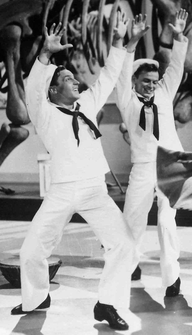 Gene Kelly & Frank Sinatra ~ On The Town, 1949