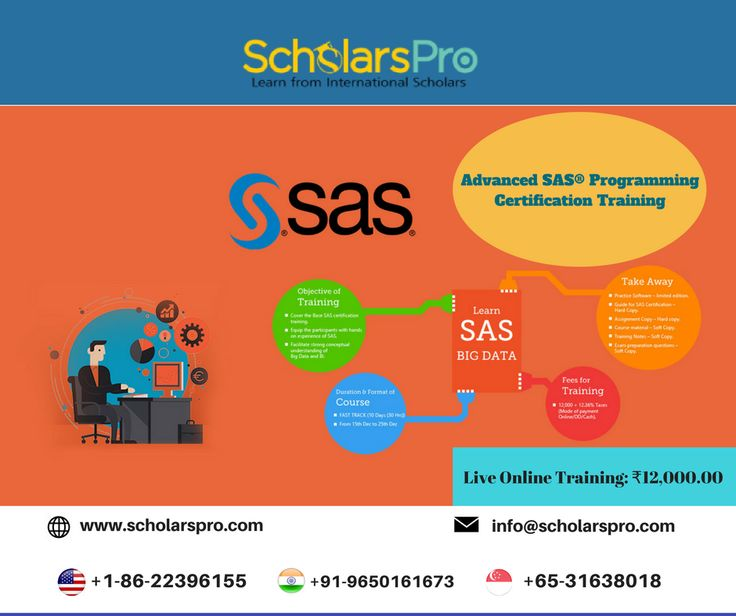 16 best SAS training by ScholarsPro images on Pinterest | Career ...