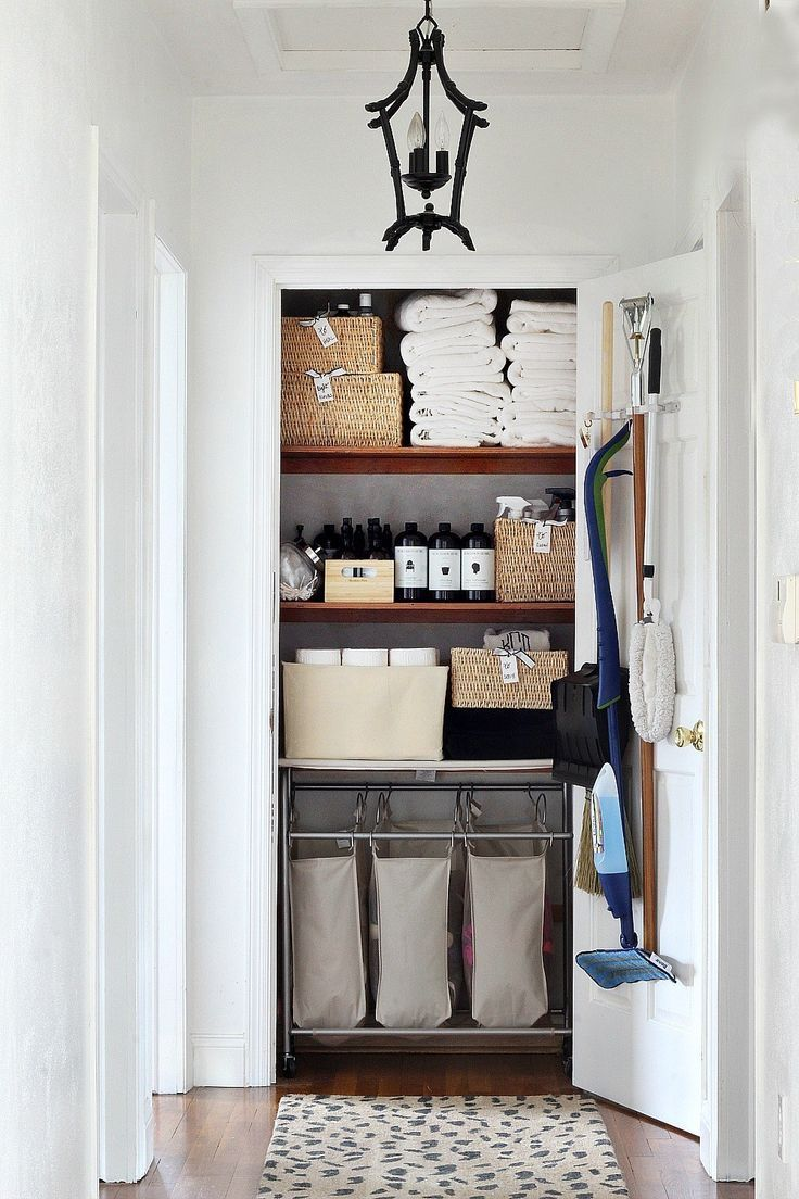 Winter Storage Hacks Closet Organizers For Laundry And Cleaning