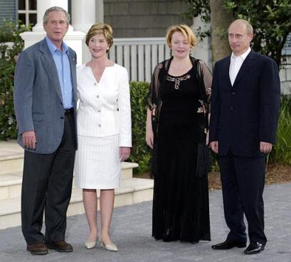 Bush & Putin