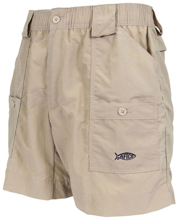 Fishing Shorts in Khaki by AFTCO
