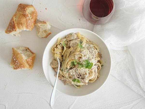 White wine can be added to this dish if you like.