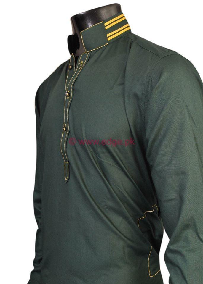 Latest Men's Eid Kurta Collection 2013 By Pakistani Brand Edge  (1)