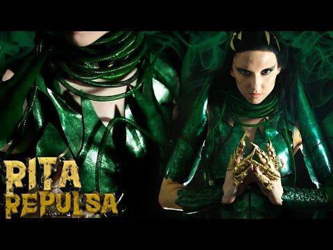 Rita Repulsa Costume Tutorial (ft. Glam&Gore)   Craft Foam Armor Cosplay Tutorial - YouTube