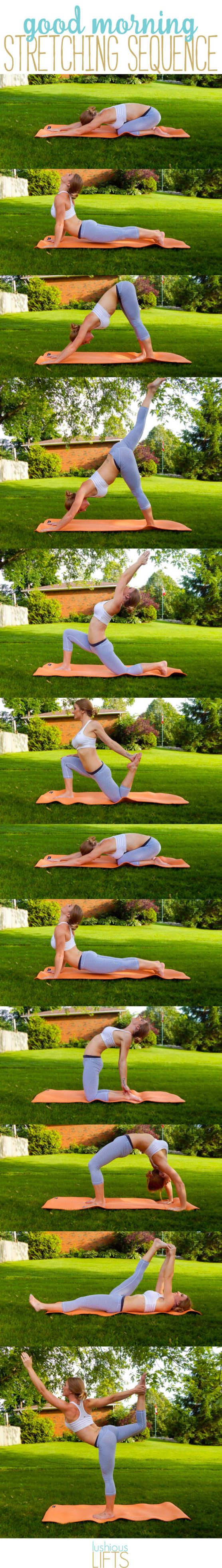 Good Morning Stretching Sequence