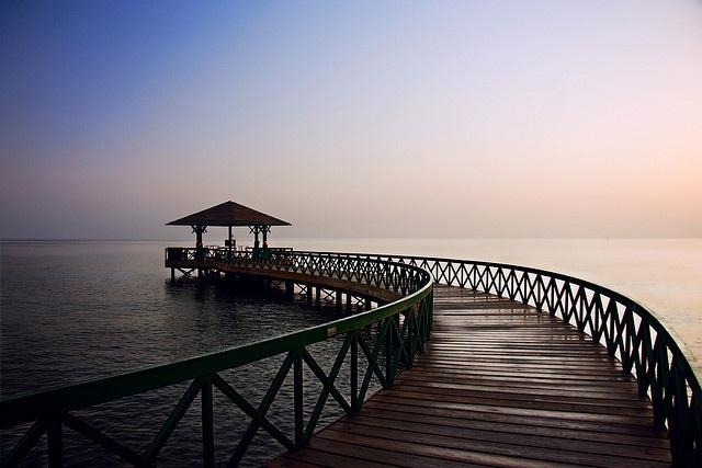 Sunrise on the Red Sea...  Hurghada, Egypt The Oberoi, Sahl Hasheesh