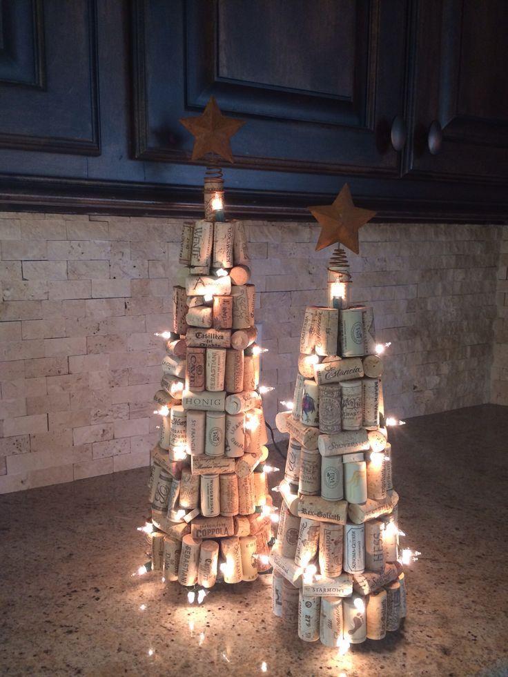 albero natale sughero laboratori per bambini natale addobbi natalizi christamas craft kidsporta candele tappi di sughero