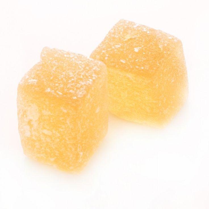 """""""Les Pate de Fruits"""" Pineapple Fruit Jelly Gummy, 1.76 oz"""