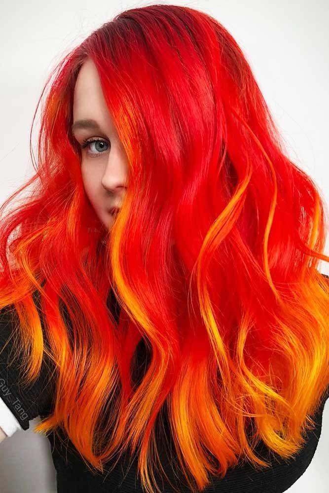 25 Eye Catching Ideas Of Pulling Of Orange Hair Today Hair Color Orange Orange Hair Dye Bright Red Hair Color