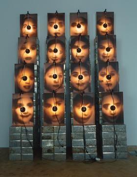 Christian Boltanski, 'Réliquaire' 1990