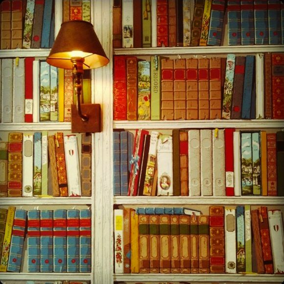 34 best books wallpaper images on pinterest book shelves for Bookshelf mural wallpaper