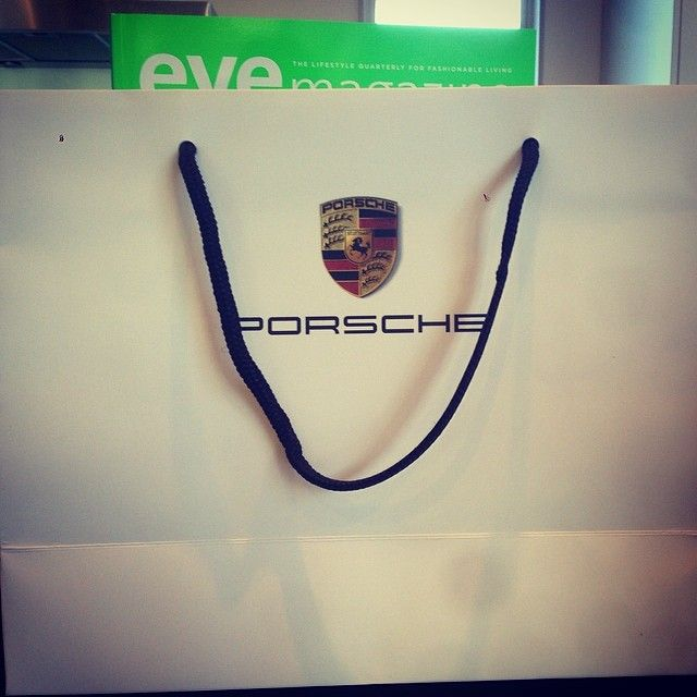 #goodiebag at @Angela Stone #brand launch #book #wine at #porsche giltrap prestige. Must of been a mistake with my bag because mine missing...
