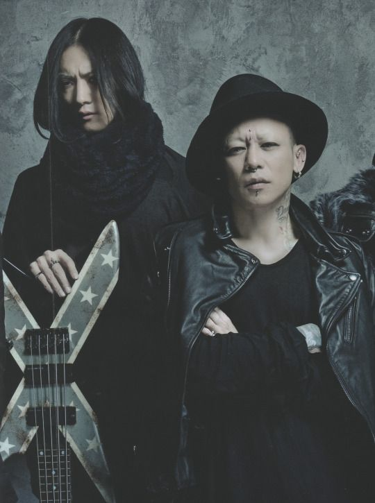 Toshiya and Kyo, Dir en grey, Players book
