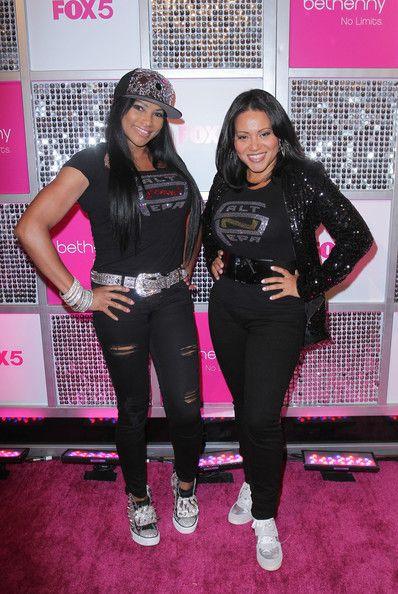 "Cheryl James and Sandra Denton of ""Salt 'N' Pepa"""