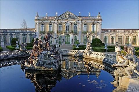 Queluz, Portugal.  Near Lisbon.  Mark and Cristina got married at a farm not far from this Palace.