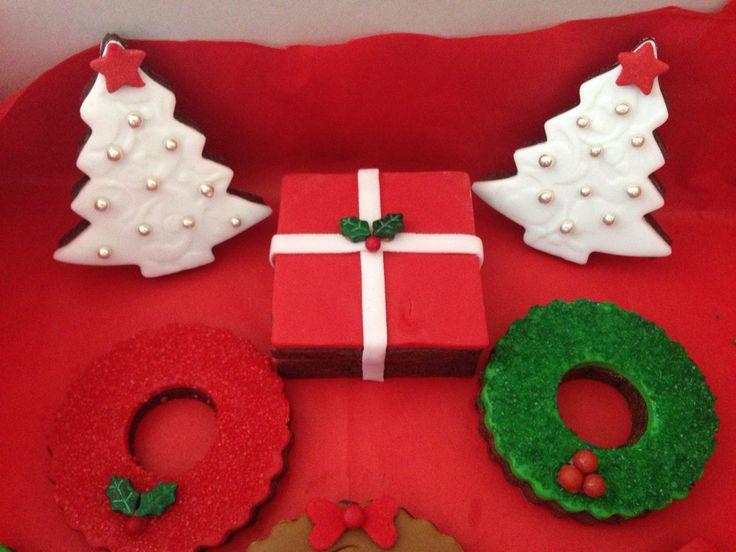 Christmas box cookie!