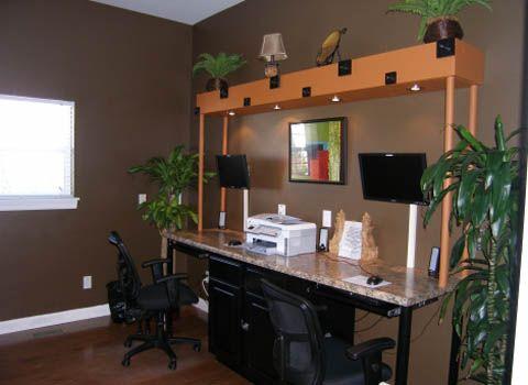 Neat idea to make the desk area more fun   For the Home   Pinterest