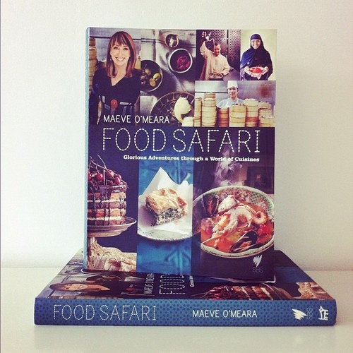 The glorious paperback edition of Food Safari by Maeve O'Meara out in Nov! #books #cooking #cookbooks (Taken with Instagram)