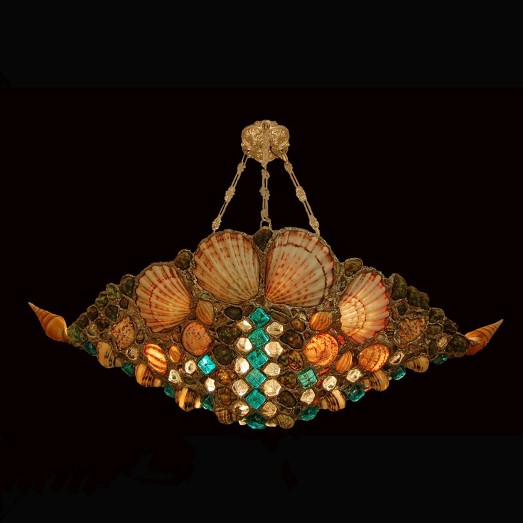 Seashell Lighting By Drake Lamps Seashell Lamps Sea