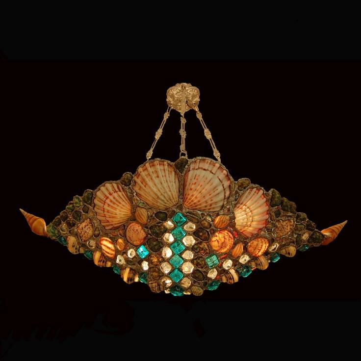 Seashell Lighting by Drake Lamps: Seashell lamps | Light