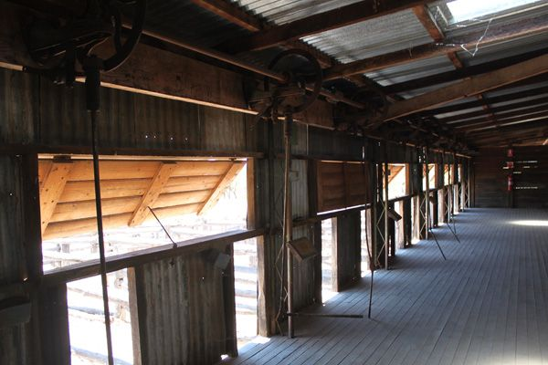 Shearing Shed With Push Out Ventilation Windows
