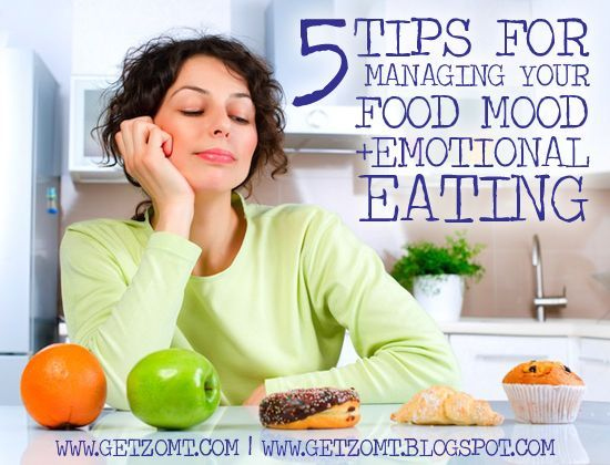 GET ZOMT!: EMOTIONAL EATING PART TWO :: 5 TIPS FOR MANAGING YOUR FOOD MOOD