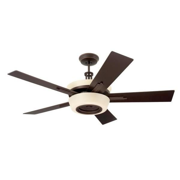 Emerson Laclede Eco 62-inch Venetian Bronze Modern Transitional Ceiling Fan with Reversible Blades