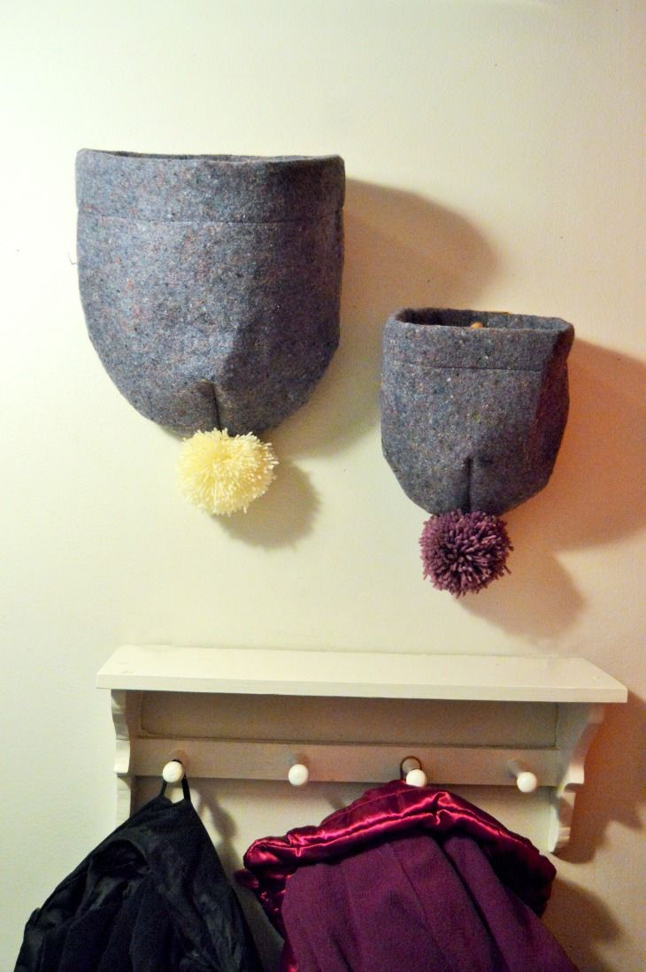 I Sewed Beanies for the Beanies. Made of Recycled Felt, Green Craft.