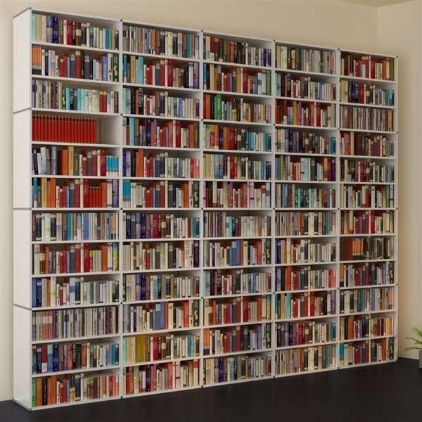 11 besten b cherwand bilder auf pinterest buecher b cherregale und arquitetura. Black Bedroom Furniture Sets. Home Design Ideas