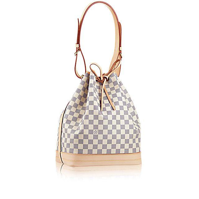 LOUISVUITTON.COM - Louis Vuitton Noé (LG) DAMIER AZUR Handbags