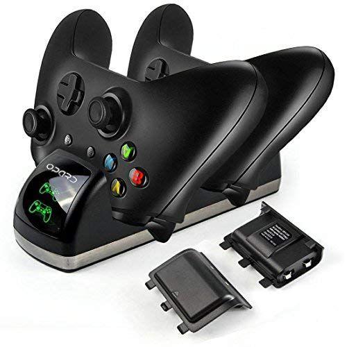 Xbox One Controller Akku Ladestation Dual Ladestation Mit 2x 1200mah Akku Led Display Fur Xbox One One S One X Xbox One Controller Elektroniken Und Led