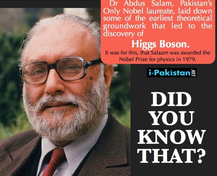 Nobel Prize winner from Pakistan. Respect