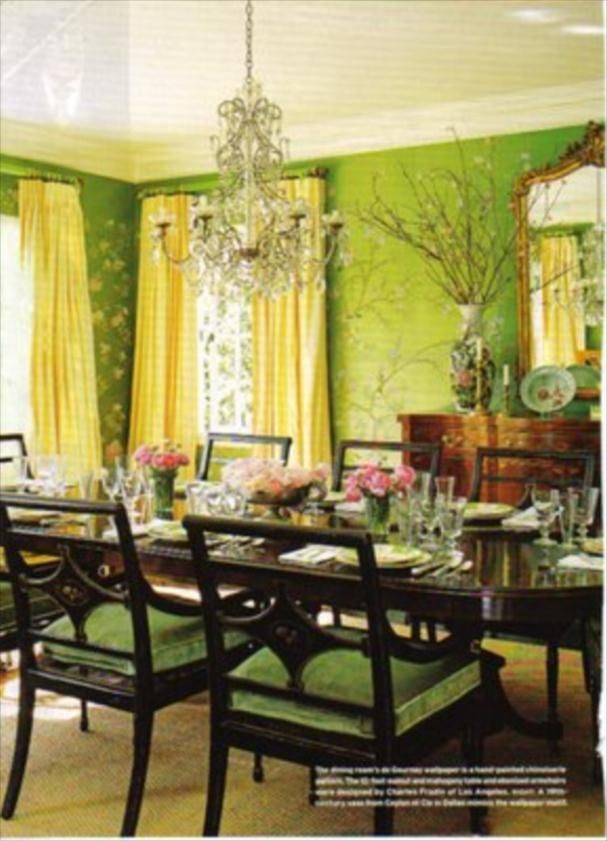 37 best Green and yellow room images on Pinterest | Homes, Interior ...