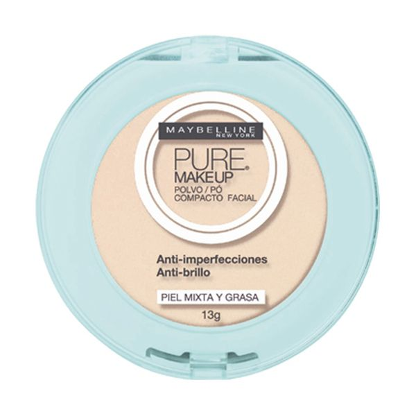 Pó Compacto Maybelline Pure Makeup Arena Natural | Netfarma