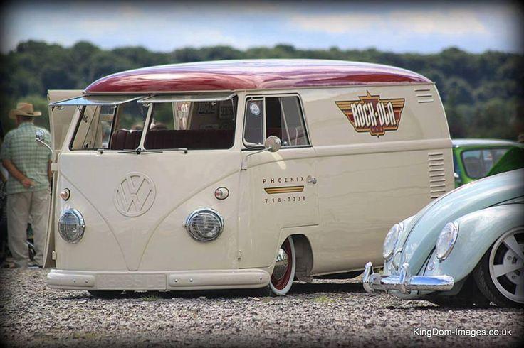 VW volkswagen split screen van