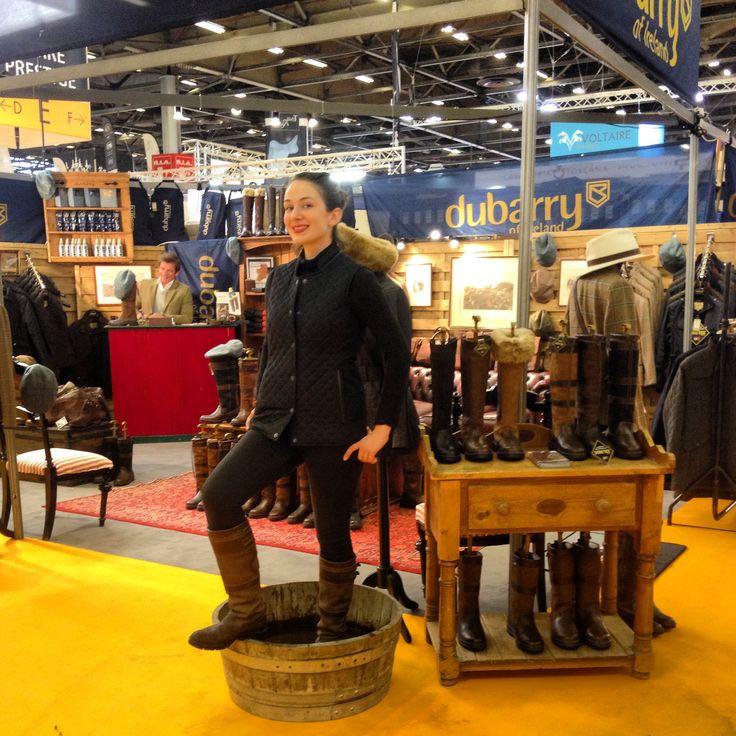Amanda chic en dubarry au salon du cheval de paris for Salon du cheval paris adresse