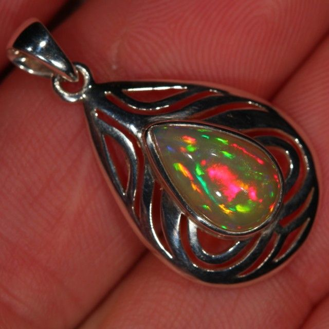 16 best sterling silver opal pendants welo opals from ethiopia hand selected ethiopian welo opal custom set into sterling silver please write to us mozeypictures Gallery