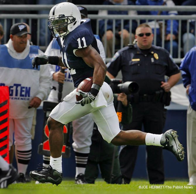 Navorro Bowman during his Penn State days @navorro_bowman #49ers