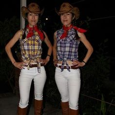 DIY Cowgirl Costumes | POPSUGAR Love & Sex
