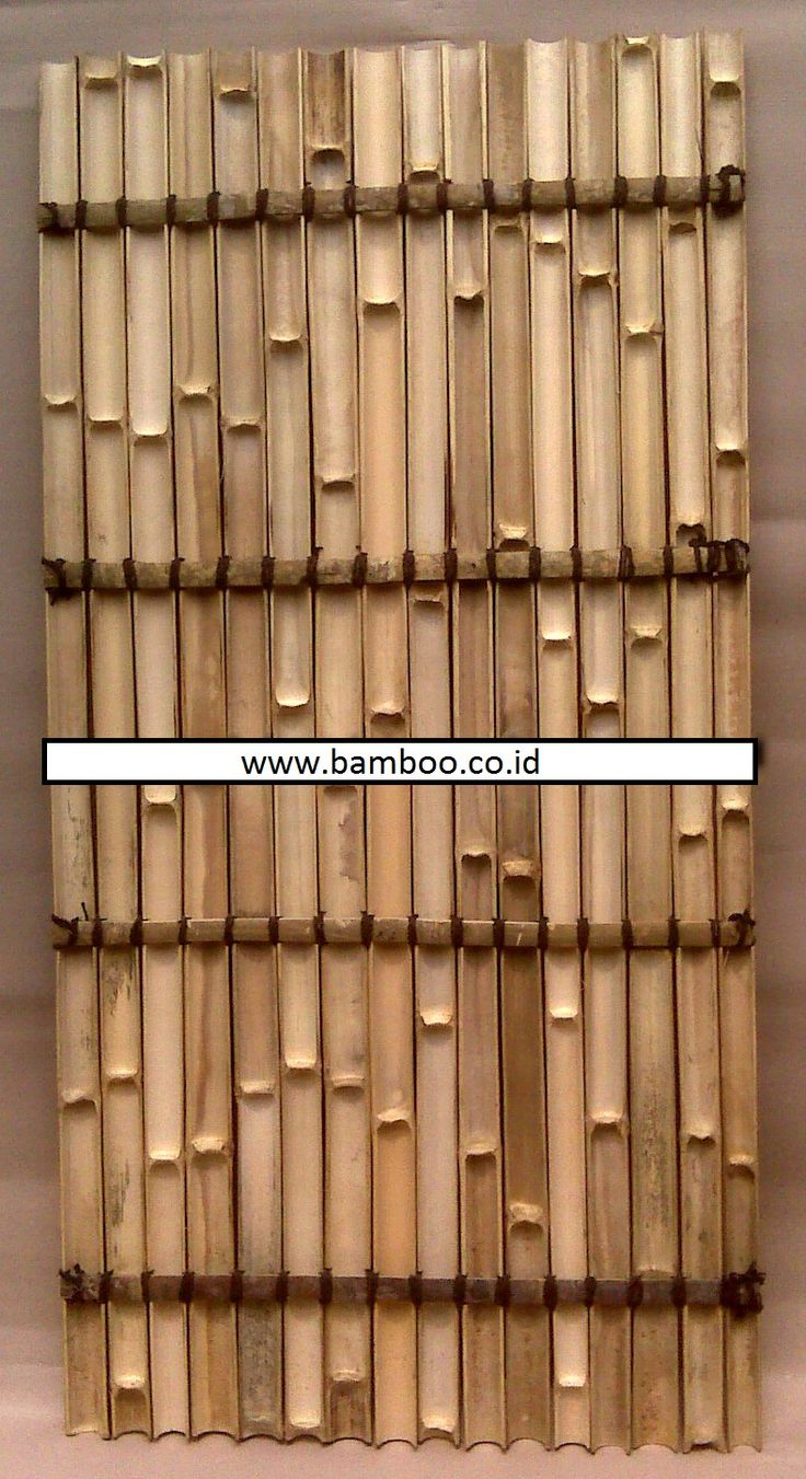 Bamboo, Bamboo In Indonesia