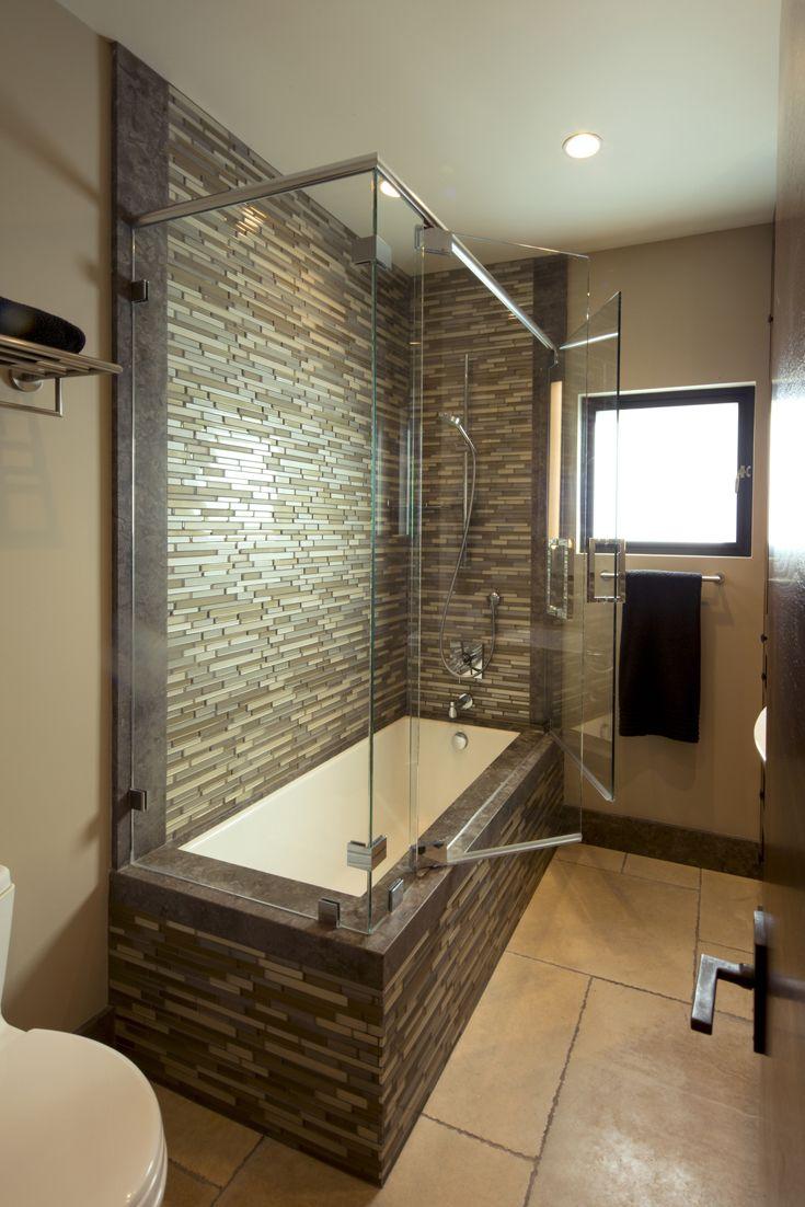 Contemporary condo bath modern bathroom chicago by jill jordan - Modern Bathroom Modern Organic Materials Natural Materials Modern Vanity Shelf Glass Contemporary