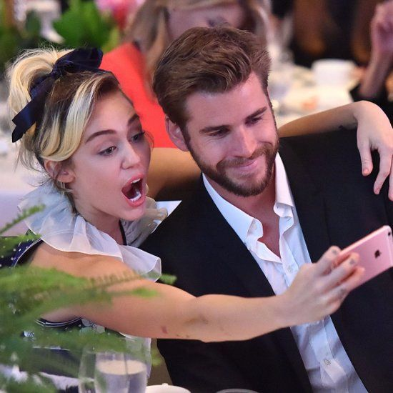 Miley Cyrus and Liam Hemsworth Variety Power of Women 2016