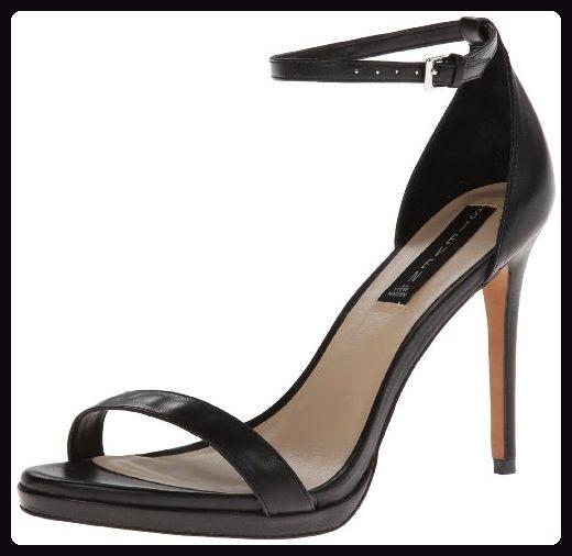 Steven Steve Madden Rykie Damen Schwarz Kleid Sandalen Schuhe Neu EU 40,5 -  Sandalen