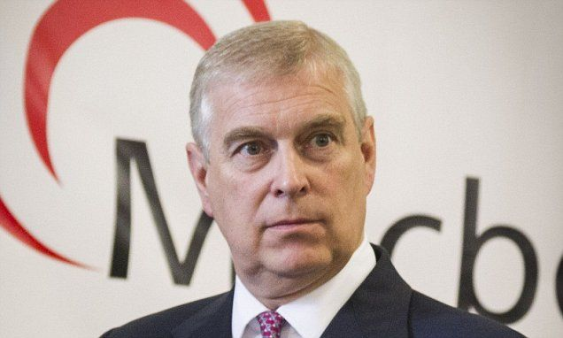 Prince Andrew, pictured, summoned Boris Johnson to Buckingham Palace for private talks as he jostles for position in the Royal Family and seeks allies in the Government's upper echelons.