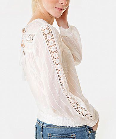Blusa com renda Camisas   Mulher  |  Túnicas  Mulher | LANIDOR.COM - Shop Online