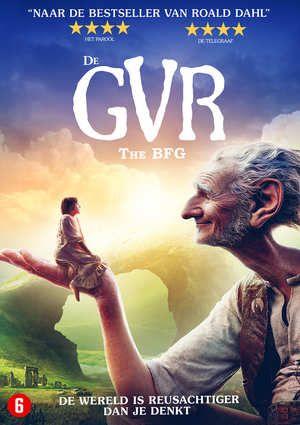 De GVR (Grote Vriendelijke Reus)-DVD