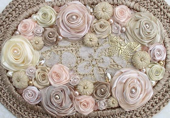 Авторские сумочки с атласными розами от Светланы Трегуб. Комментарии : LiveInternet - Российский Сервис Онлайн-Дневников